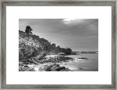 From The Bottom Of Forty Steps Newport Framed Print