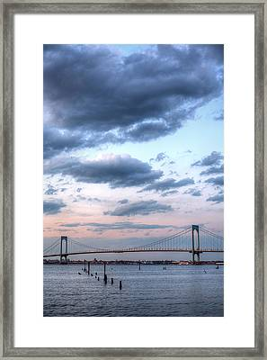 From The Bronx To Queens Framed Print by JC Findley