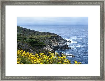 From The Cliffs Above Framed Print by Anthony Citro
