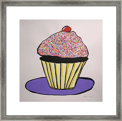Framed Print featuring the painting From The Cupcake Cafe by John Williams