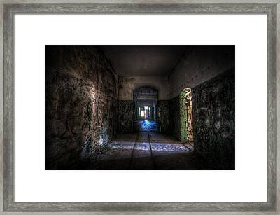 From The Darkness Framed Print by Nathan Wright