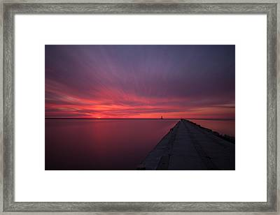 From The Depths Of My Heart Framed Print by Daniel Chen