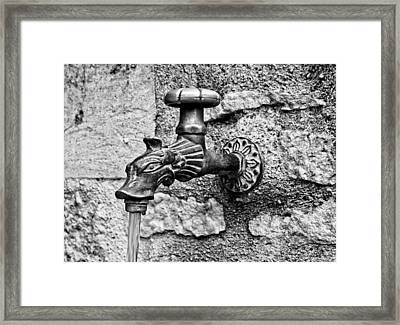 From The Dragon's Mouth Framed Print