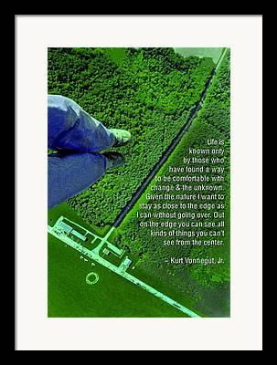 Kurt Vonnegut Jr Framed Prints