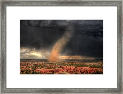 From The Four Winds Framed Print
