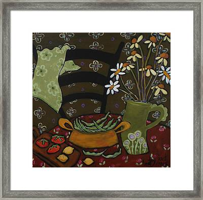 From The Garden Framed Print by Bailey Jack