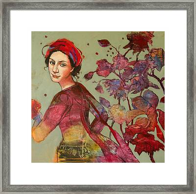 From The Garden Framed Print by Jennifer Croom