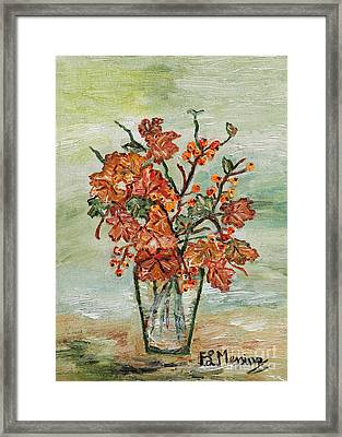 From The Garden Framed Print by Loredana Messina