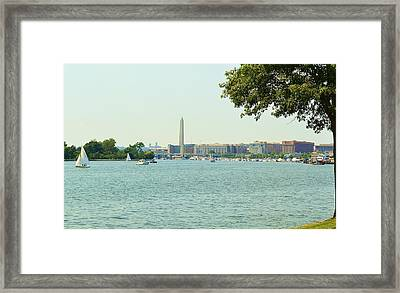 From The General's Home Framed Print by Mary Zeman
