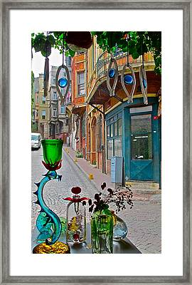 From The Glass-maker's Window Framed Print