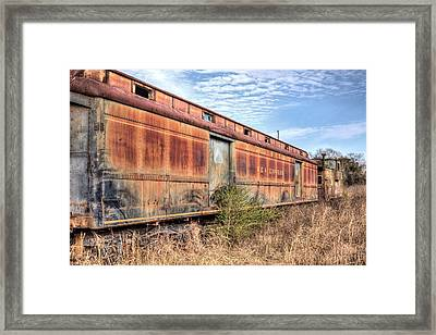From The Glory Days Framed Print by JC Findley