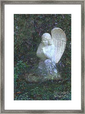 From The Hand Of The Angel Framed Print by Ella Kaye Dickey
