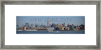 From The Harbor Framed Print by Thomas Fouch
