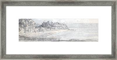 From The Heathfields Seat Framed Print by Francis Towne