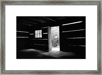 From The Inside Framed Print by Lawrence Golla