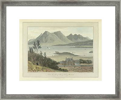From The Isle Of Rasay Framed Print by British Library