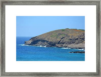 From The Lookout Framed Print
