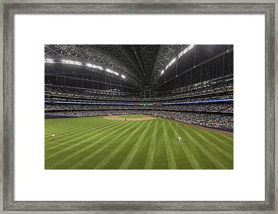 From The Outfield Framed Print