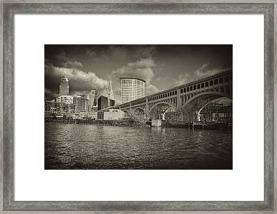 From The River Bank Framed Print