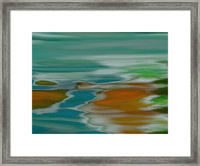 From The River To The Sea Framed Print
