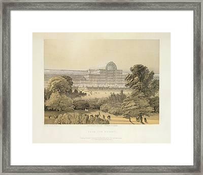 From The Rosery Framed Print