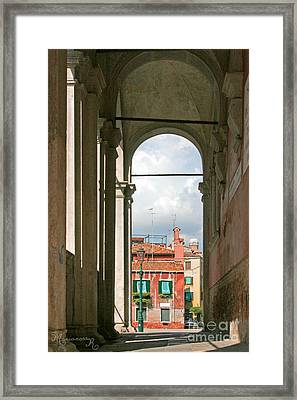 From The Scuola Di S. Rocco Framed Print by Mariarosa Rockefeller
