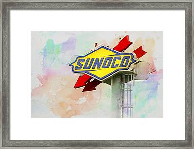 From The Sunoco Roost Framed Print