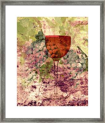 From The Vine Framed Print by Mindy Bench