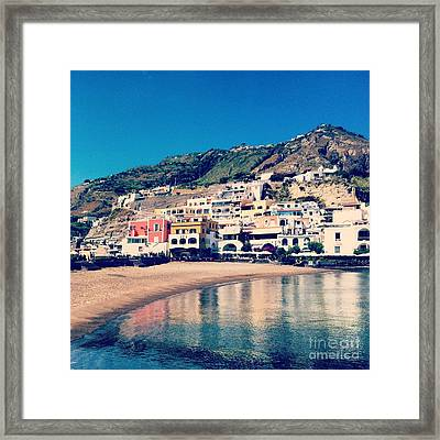 From The Water's Edge Framed Print by H Hoffman