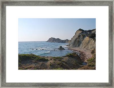 From The West Framed Print by George Katechis