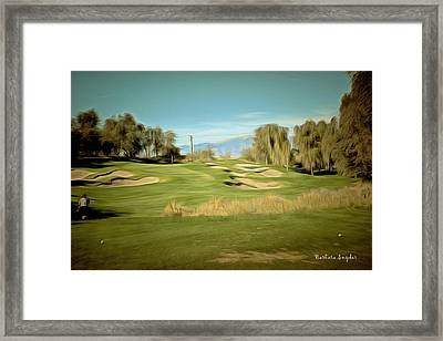 From The Whites At Shadow Ridge Framed Print by Barbara Snyder