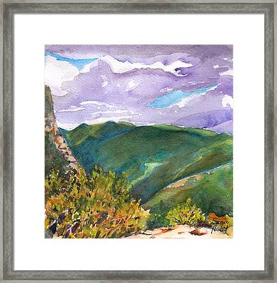 From Tuckerman's Ravine Framed Print by Susan Herbst