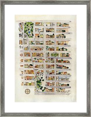From Union Square To Madison Square Framed Print