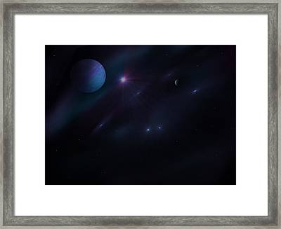 From Up Above Framed Print by Ricky Haug