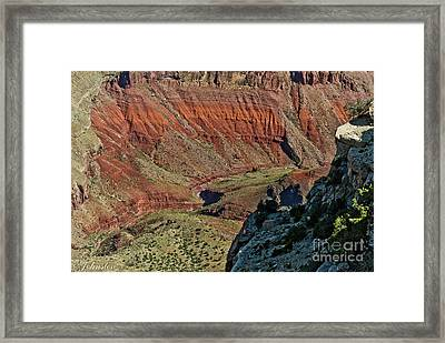 From Yaki Point 5 Grand Canyon Framed Print by Bob and Nadine Johnston