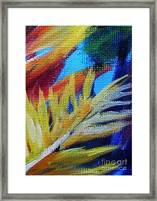 Fronds Framed Print by John Clark