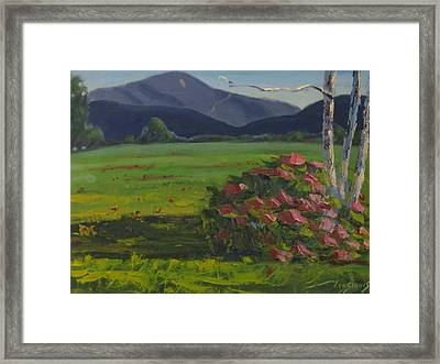 Framed Print featuring the painting Front And Back by Len Stomski