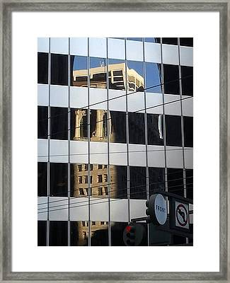 Front And Market Framed Print by Danny Lynch