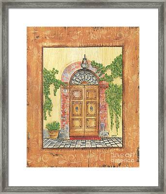 Front Door 2 Framed Print by Debbie DeWitt