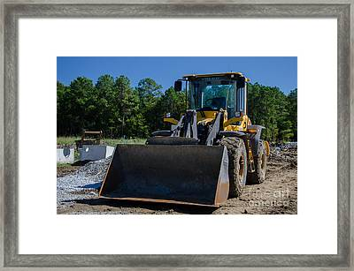 Front End Loader Framed Print by Dale Powell