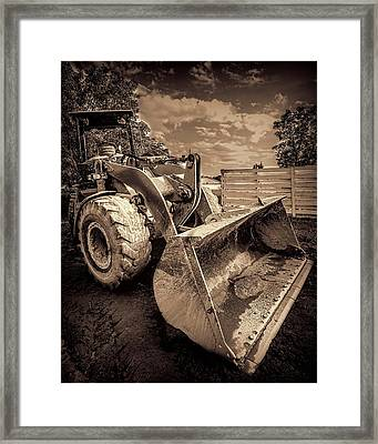Front Loader-3 Framed Print by Rudy Umans