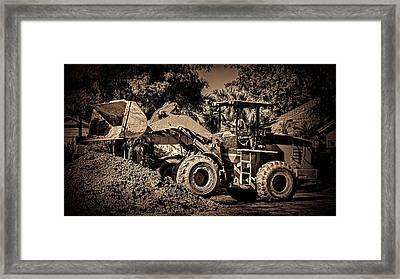 Front Loader-6 Framed Print by Rudy Umans