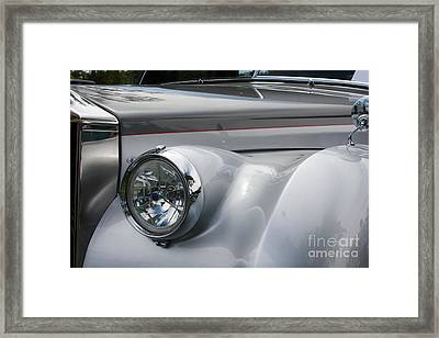 Framed Print featuring the photograph Front Of A Rolls Royce by Gunter Nezhoda