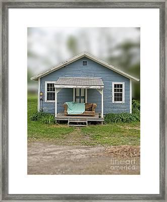 Front Porch Comfort Framed Print