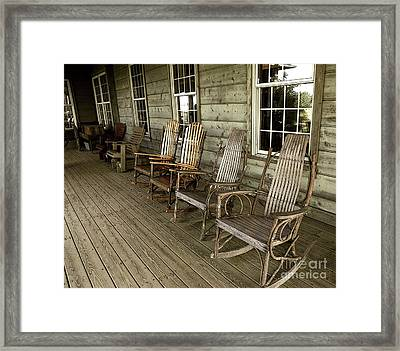 Front Porch Framed Print