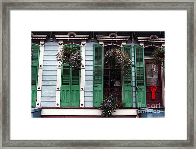 Front Porch Framed Print by John Rizzuto