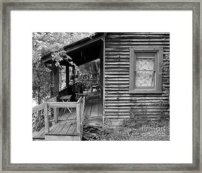 Front Porch Framed Print by Mel Steinhauer