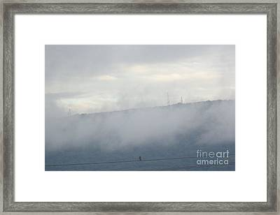 Framed Print featuring the photograph Front-row Seat by Christina Verdgeline