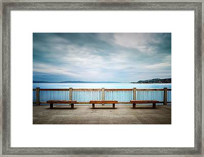 Front Row Seating Framed Print