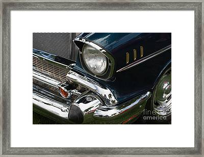 Front Side Of A Classic Car Framed Print